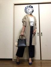 ラフ スーツ風 入園式コーデ ママ