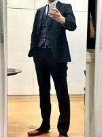 スーツ シンプル