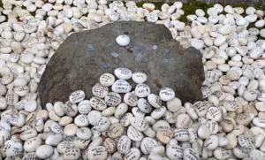 多賀大社 寿命石