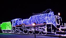 イルミネーション 銀河鉄道SL