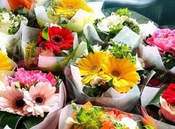 花束 贈る 先生