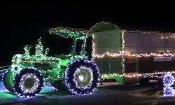 小岩井ウィンターイルミネーション 光のトラック