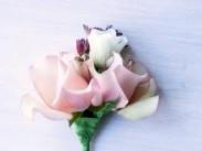 コサージュ 生け花
