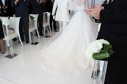 結婚式 新郎新婦 退場
