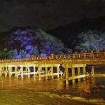 京都嵐山花灯路2019!ライトアップ期間や混雑は?駐車場やホテルは?