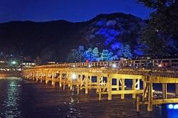 京都嵐山花灯路 ライトアップ