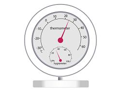 温湿度計 イラスト