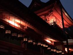 ライトアップ 春日大社