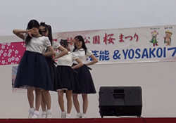 村松公園桜まつり ステージイベント
