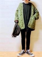 シンプル 暖かい 服装