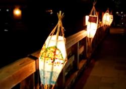 京都嵐山花灯路 オブジェ