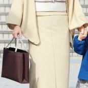 着物 トートバック 女性
