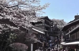 清水寺 三年坂 桜