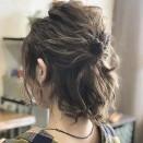 髪の毛 簡単