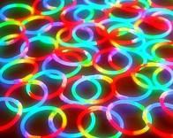 光るブレスレット 夏祭り