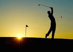 サンバイザー ゴルフ