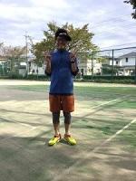 テニスプレイ スポーティ