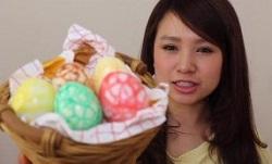 恐竜 卵 イースターエッグ
