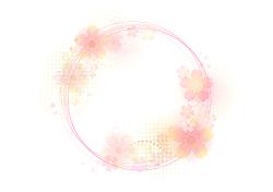 花のリング イラスト