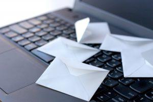 ノートパソコン 手紙