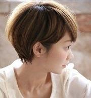 ショート 女の子 髪型
