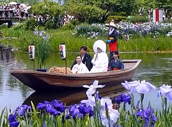 水郷佐原あやめ祭り 結婚式