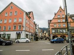 ロマンチック街道・フュッセン ドイツ