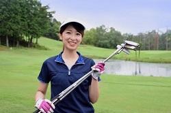 ゴルフ場 サンバイザー 女性