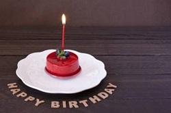 happybirthday 誕生日ケーキ ろうそく