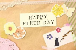 happybirthday デコレーション