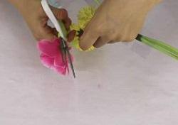 造花 ハサミ
