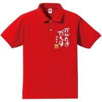 赤 ポロシャツ 還暦祝い
