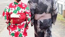 お祭り 花火 浴衣