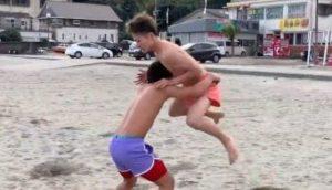 ビーチ相撲