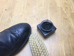 革靴 クリーム ブラシ