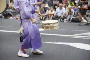 徳島阿波踊り 太鼓
