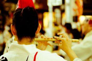 徳島阿波踊り 横笛