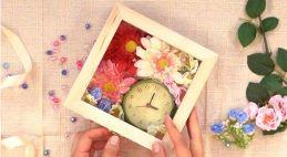 可愛い 花時計