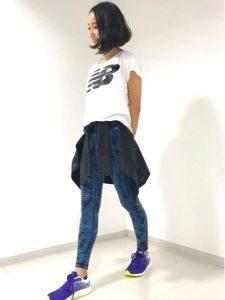 女性 ランニング 服装