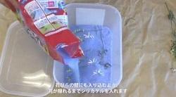 シリカゲル 容器