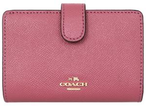 コーチ 二つ折り財布 レディース