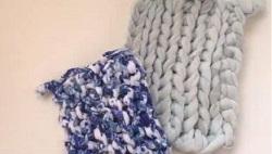 編み物 お掃除クロス