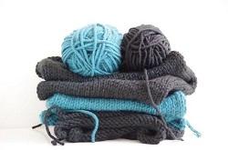 マフラー 編み物 手作り