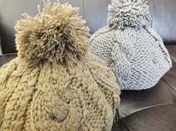 帽子 編み物 手作り