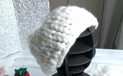 指編み帽子 手作り
