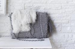バッグ 指編み 手作り