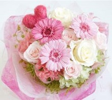 花束 贈る