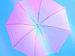 傘 レインボー