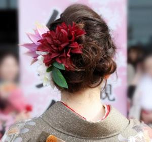 成人式 髪飾り