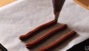 チョコチュロス 手作り